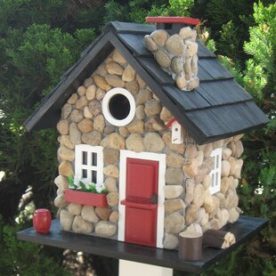 Home Bazaar Cottage Charmer Series Windy Ridge 11 in x 9.5 in x 9.5 in Birdhouse