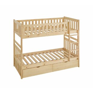 Kier Elric Twin Bunk Bed with Storage by Zoomie Kids
