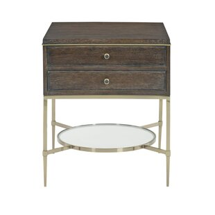 Clarendon 2 Drawer Nightstand