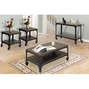 Rhett 4 Piece Coffee Table Set by 17 Stories