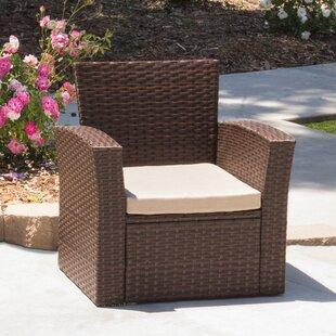 Ivy Bronx Hope Outdoor Armchair with Cush..