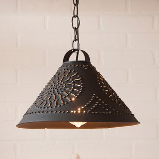 Gracie Oaks Wembley 1-Light Cone Pendant