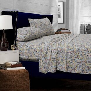 Fiji Paisley 300 Thread Count Egyptian Quality Cotton Deep Pocket Sheet Set