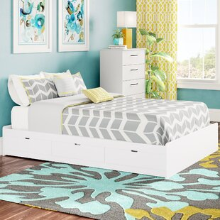 Latitude Run Divito Beautiful Dazzling Full Storage Platform Bed