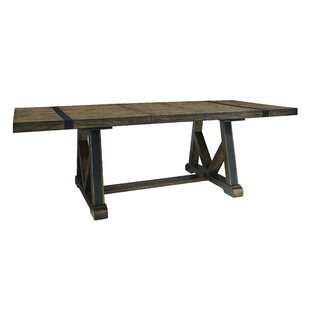Leandra Trestle Extendable Dining Table by Williston Forge