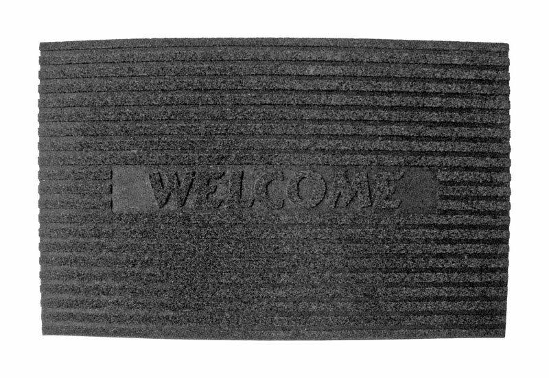 Williston Forge Busch Rubber Nonslip 30 In X 18 In Non Slip Outdoor Door Mat Wayfair