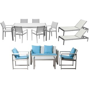 Dorsey 13 Piece Conversation Set with Cushions