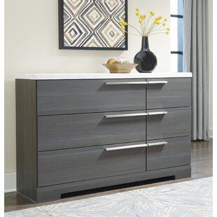 Halstead 6 Drawer Dresser by Orren Ellis Read Reviews