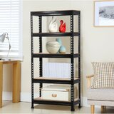 59 H x 28 W Metal Etagere Bookcase by WFX Utility™