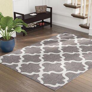 Ricky Weather-Proof Gray Indoor/Outdoor Area Rug