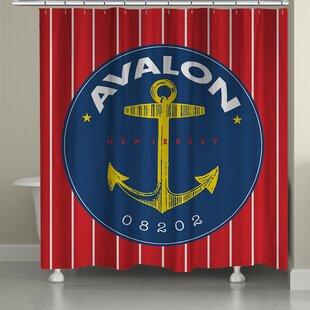 Avalon Single Shower Curtain
