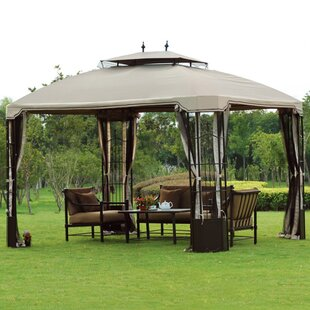 f64a25f91743 Replacement Canopy for 10' W x 12' D Bay Window Gazebo Replacement Canopy
