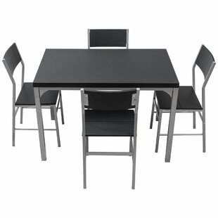 Ebern Designs Catalina 5 Piece Dining Set