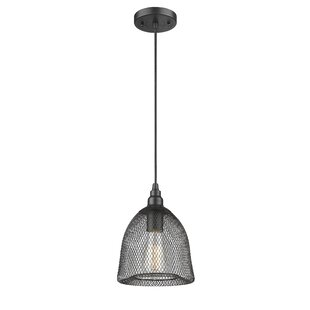 Williston Forge Deckard 1-Light Cone Pendant
