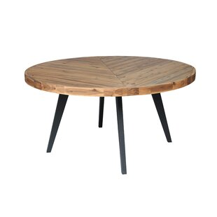 Fiskeville Acacia Round Dining Table