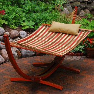 Sandell Polyester Hammock with Stand by Red Barrel Studio