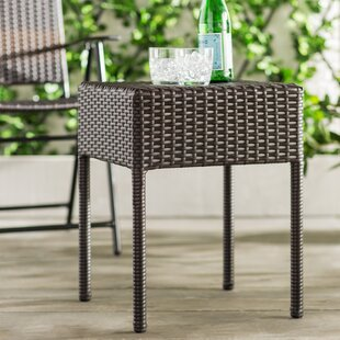 Batley Wicker/Rattan Side Table by Andover Mills