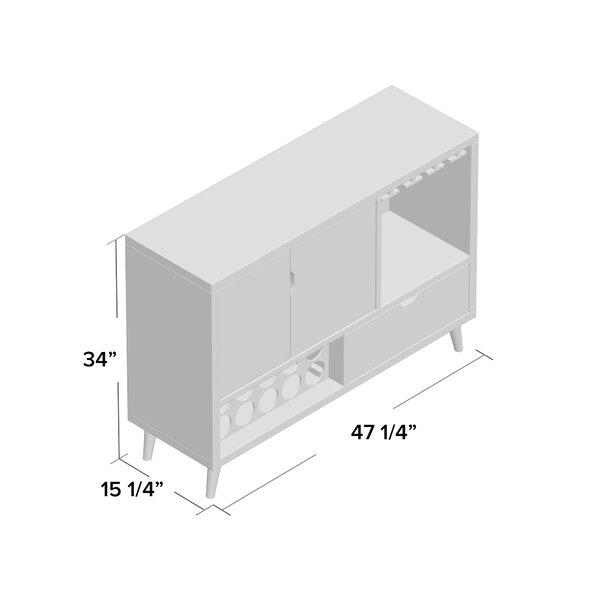 Mercury Row Stalvey Contemporary 47 25 Wide 1 Drawer Server Reviews Wayfair