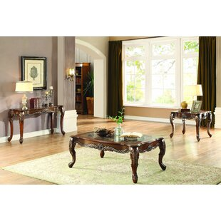 Witherell 3 Piece Coffee Table Set