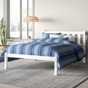 Damian Twin Platform Bed with Headboard by Mistana
