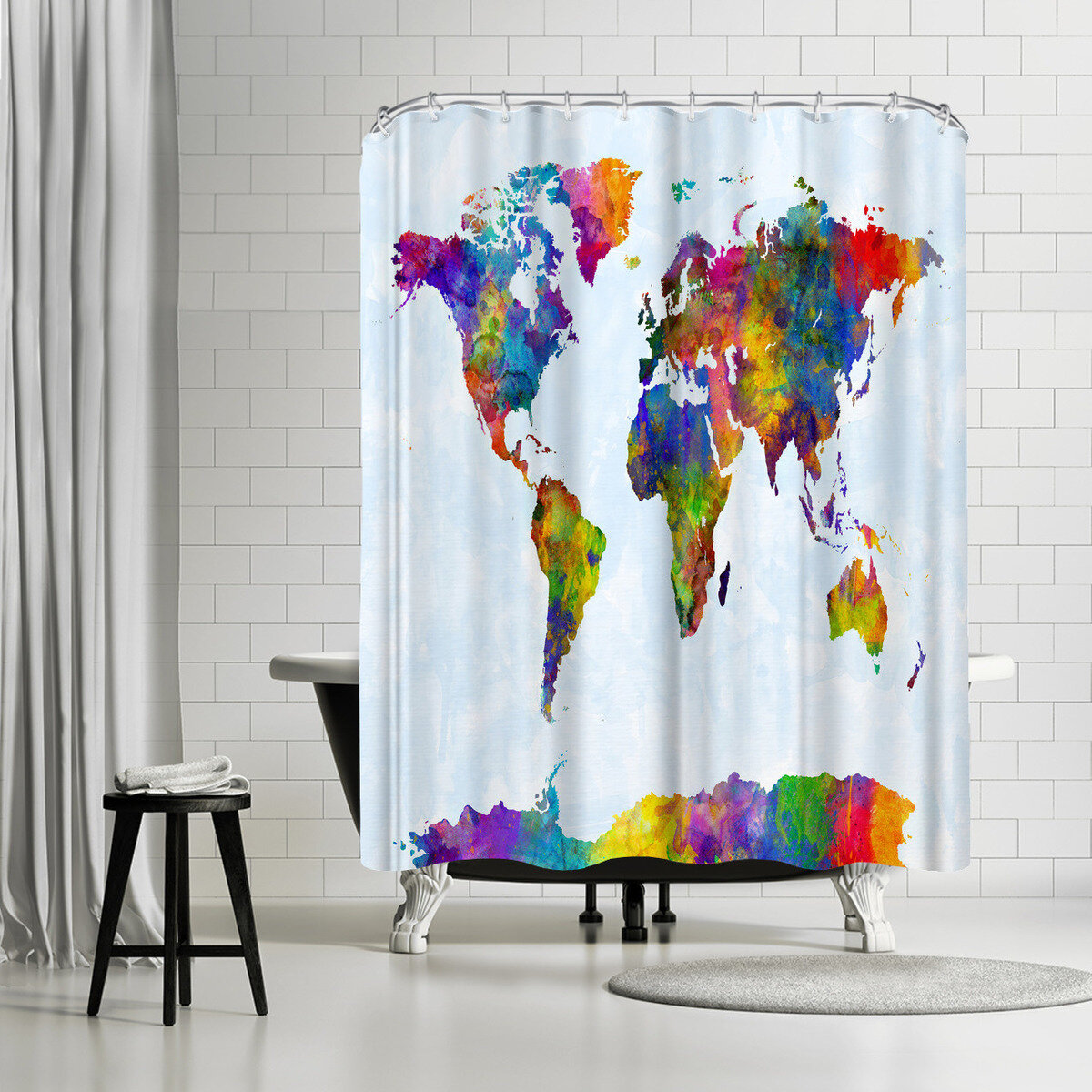 East Urban Home Michael Tompsett Single Shower Curtain Wayfair