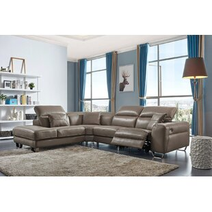 Orren Ellis Quill Reclining Sectional