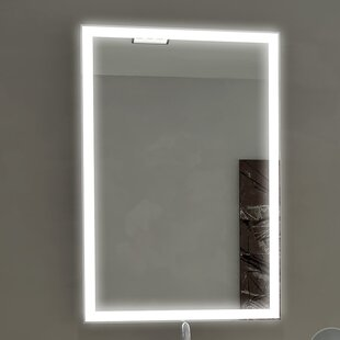 Orren Ellis Kristian llluminated Bathroom / Vanity Wall Mirror