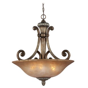 Dolan Designs Carlyle 3-Light Bowl Pendant
