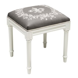 Best Fleur De Lis Vanity Stool By 123 Creations