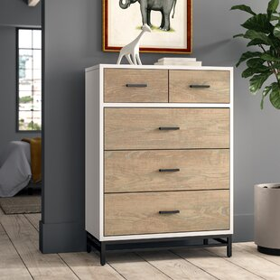 Find the perfect Frieda 5 Drawer Chest by Canora Grey Reviews (2019) & Buyer's Guide