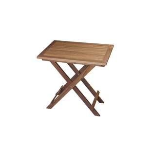 Kevin Teak Folding Side Table