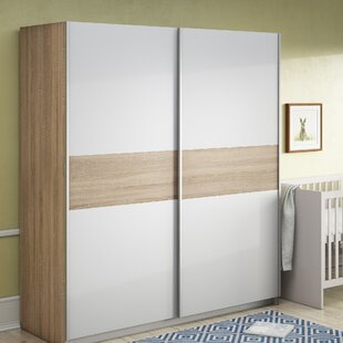 Pascoe 2 Door Wardrobe By Mercury Row