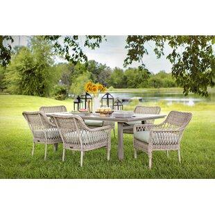 Blue Oak Outdoor Colfax 7 piece Dining Set
