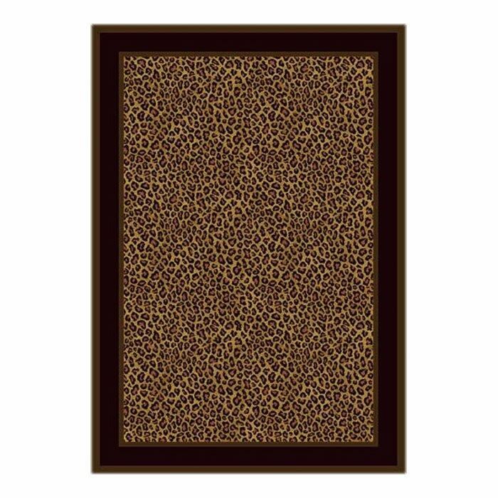 Bloomsbury Market Victorville Leopard Print Zimbala Area Rug, Size: Rectangle 78 x 109