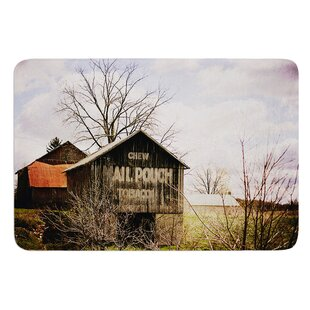 Mail Pouch Barn by Angie Turner Bath Mat