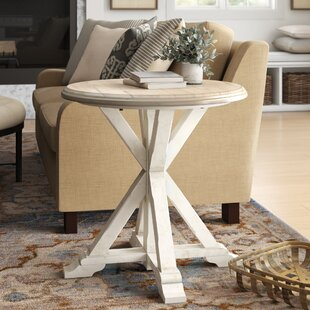 Affordable Liana End Table by Birch Lane™ Heritage