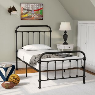 Lofton Twin Slat Bed by Alcott Hill