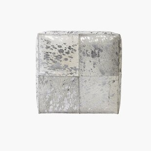 Forest Cube Ottoman by Pasargad
