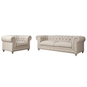 Mickelsen 2 Piece Living Room Set by Darby H..