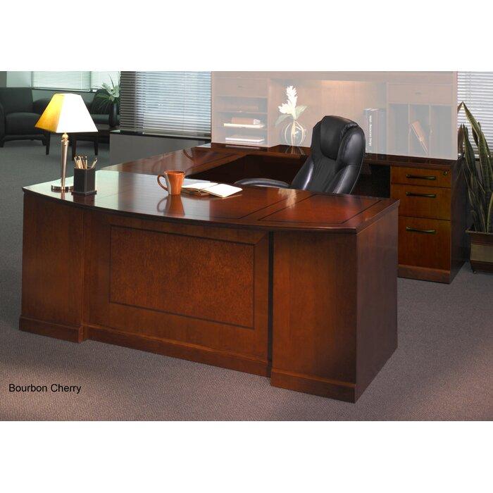 Superieur Mayline Sorrento Series U Shape Executive Desk | Wayfair