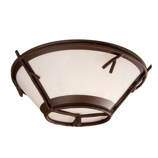 Steel Partners Sticks 2-Light Flush Mount