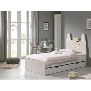 Erlandson European Single Bed With Drawer By Zoomie Kids