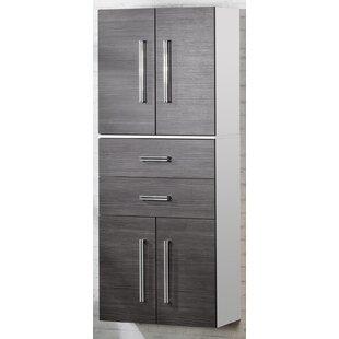 Lugano/Como 70.5 X 169cm Tall Bathroom Cabinet By Fackelmann