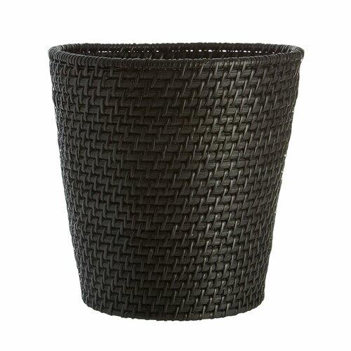 Papierkorb aus Rattan ClearAmbient Farbe: Schwarz | Büro > Papierkörbe | ClearAmbient