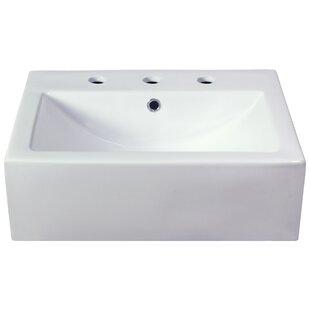 Semi Recessed Bathroom Sinks Wayfair