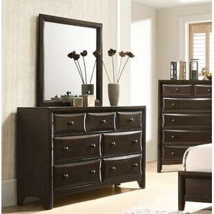 Arabelle 7 Drawer Dresser with Mirror