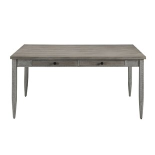 Searles Wood and Metal Dining Table Gracie Oaks