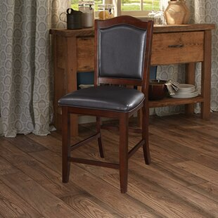 Hoffer Wooden Armless 24 Bar Stool (Set of 2) by Charlton Home