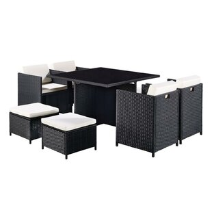 Genola 8 Seater Dining Set With Cushions Image