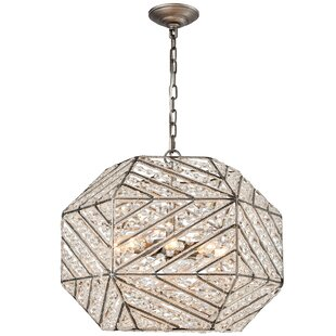 Swinton 8-Light Geometric Chandelier by Mercer41